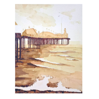 Rough-Sea-Original-Watercolour-Painting-by-Jessica-Coote